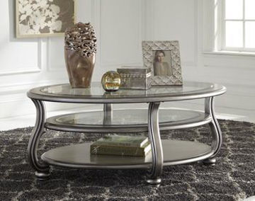 Picture of CORALAYNE OVAL COCKTAIL TABLE