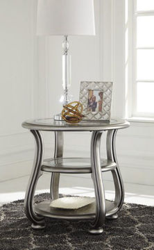Picture of CORALAYNE ROUND END TABLE