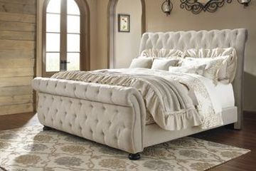 Picture of WILLENBURG KING UPHOLSTERED BED