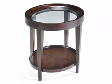 Picture of CARSON OVAL END TABLE