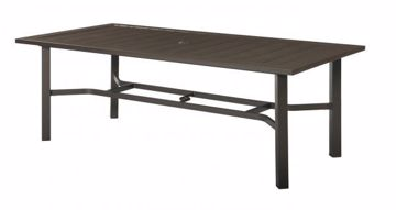 Picture of CHATHAM II RECTANGULAR UMBRELLA DINING TABLE
