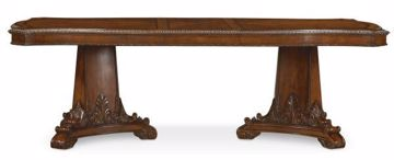 Picture of OLD WORLD DOUBLE PEDESTAL DINING TABLE