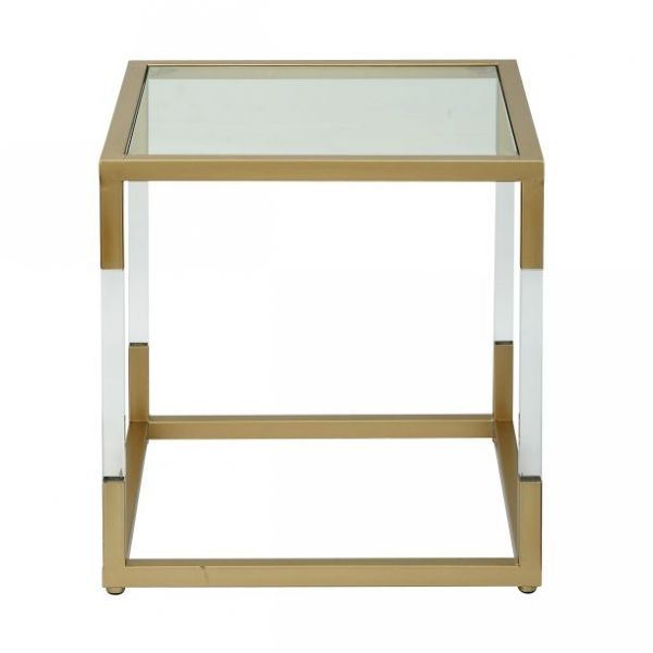 Combo Square End Table
