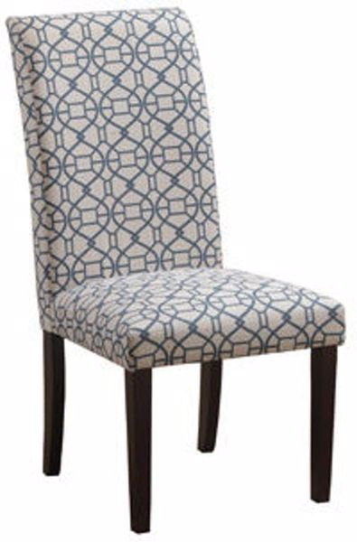 Picture of POWELL PARSON CHAIR BLUE