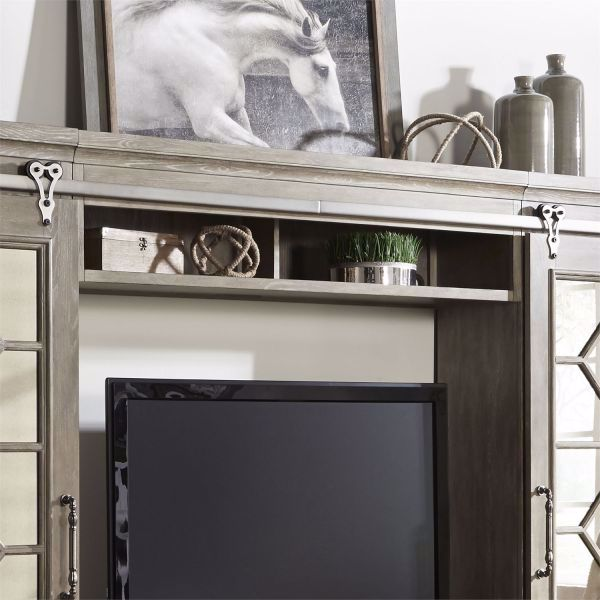 Picture of MIRRORED REFLECTIONS ENTERTAINMENT WALL UNIT
