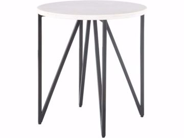 Picture of CEDRIC ROUND END TABLE