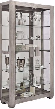 Picture of ASH DOUBLE DOOR CURIO