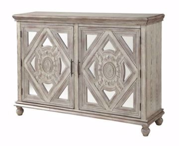Picture of 2-DOOR CARVED CREDENZA