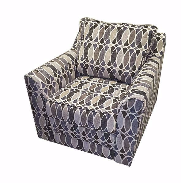 Picture of DECO SHAPES SWIVEL CHAIR