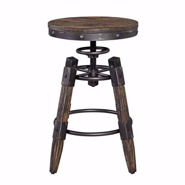 Picture of PINEVILLE ADJUSTABLE BARSTOOL