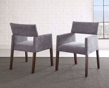 Picture of AMALIE SIDE CHAIR GRAY