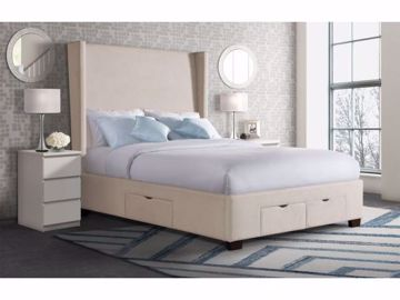 Picture of MAGNOLIA KING UPHOSTERED BED SAND