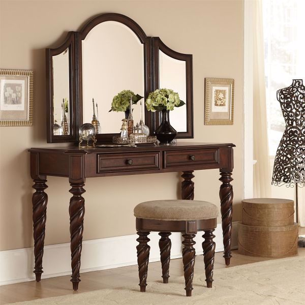 Picture of ARBOR PLACE VANITY STOOL