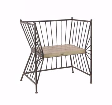 Picture of METAL GATE ACCENT CHAIR