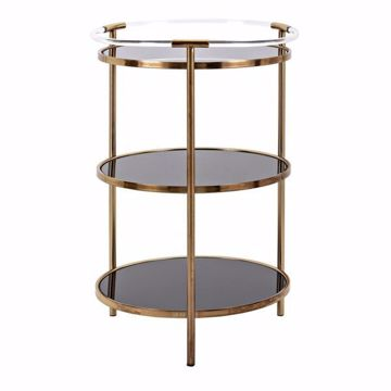 Picture of ISADORA ROUND SHELF UNIT