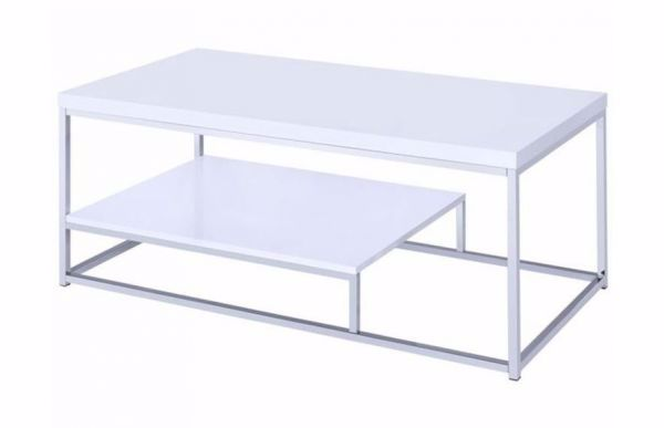 Picture of LUCIA COCKTAIL TABLE WHITE