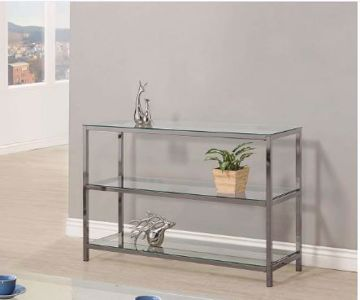 Picture of BLACK NICKEL SOFA TABLE