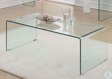 Picture of BENT GLASS COCKTAIL TABLE