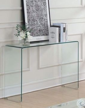 Picture of BENT GLASS SOFA TABLE