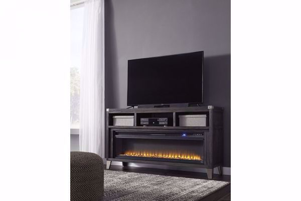 Picture of TODOE TV STAND WITH FIREPLACE INSERT
