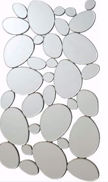 Picture of SCATTERED ROCKS WALL MIRROR