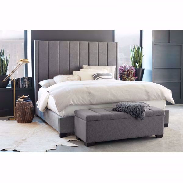 Picture of CYDNEY QUEEN UPHOLSTERED BED