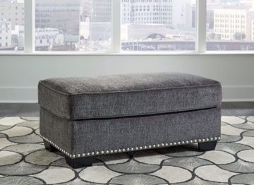 Picture of LOCKLIN CARBON OTTOMAN