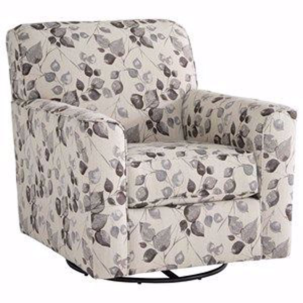 Picture of ABNEY SWIVEL ACCENT CHAIR