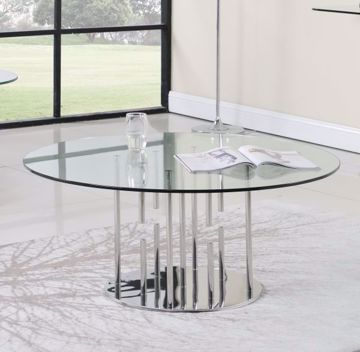 Picture of FLOATING GLASS COCKTAIL TABLE