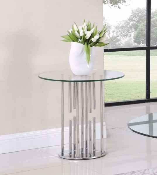 Picture of FLOATING GLASS END TABLE