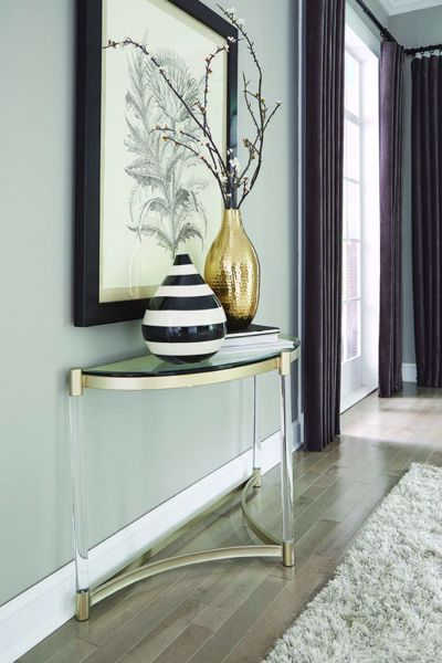 Picture of SILAS DEMILUNE SOFA TABLE