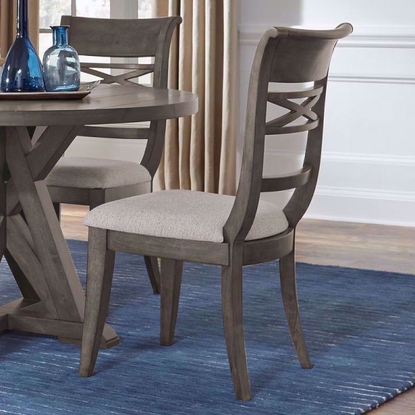 Picture of BECKMAN GRAY SIDE CHAIR
