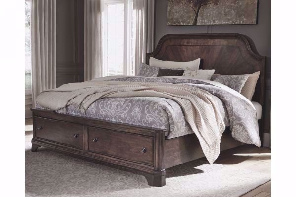 Picture of ADINTON KING PANEL STORAGE BED