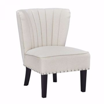 Picture of EMPORIUM ACCENT CHAIR PARCHMENT