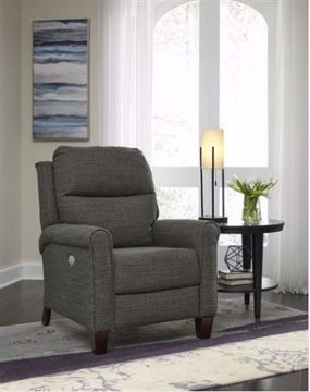 Picture of PEPTALK HI LEG RECLINER CHARCOAL