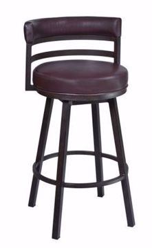 "Picture of MADRID 26"" COUNTER STOOL AUBURN"