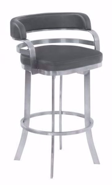 "Picture of PRINZ 30"" BARSTOOL GRAY"