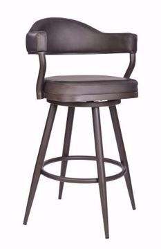 "Picture of JUSTIN 30"" BARSTOOL BROWN"