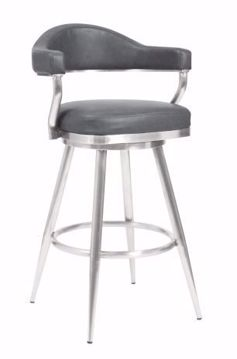 "Picture of JUSTIN 30"" BARSTOOL GREY"