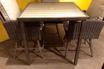 "Picture of BROOKSTONE 42"" SQ BAR TABLE"