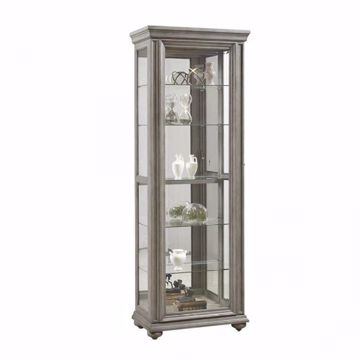 Picture of GREY SLIDING DOOR CURIO