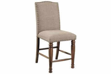 Picture of LETTNER UPHOLSTERED STOOL