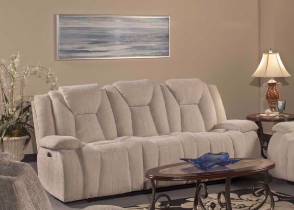 Picture of SAVOY BARK RECLINING SOFA