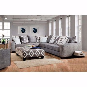 Picture of STONEWASH BLACK 2-PC. SECTIONAL