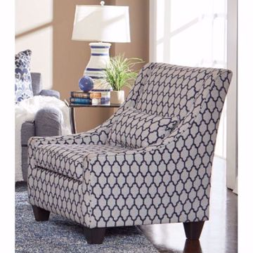 Picture of TANGIER NAVY ACCENT CHAIR