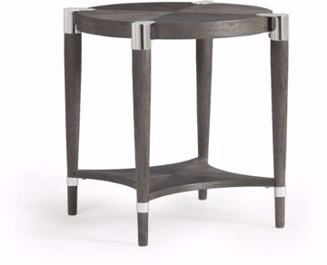 Picture of DUVALL ROUND END TABLE