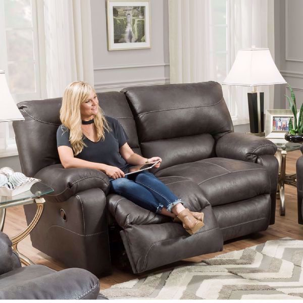 Picture of VIP DUAL POWER RECLINING LOVESEAT