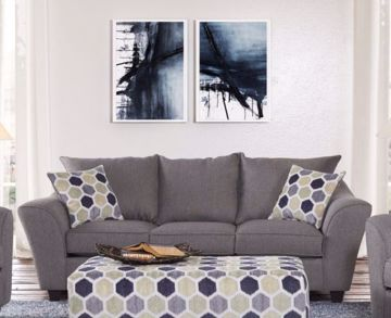 Picture of HERITAGE GREY SOFA