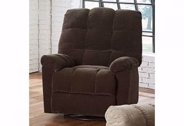 Picture of EARHARDT SWIVEL RECLINER JAVA