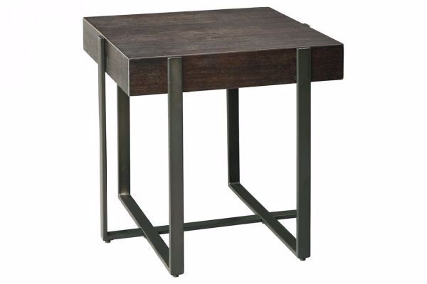 Picture of DREWING WOOD BLOCK END TABLE